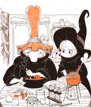 Witchpastry lesson by yllya