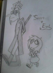 PnF Eni 2nd and Doof 2nd Sweet & Evil by EnyatheAngelFox