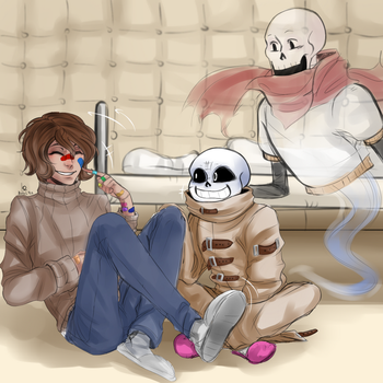Three of us by BanalRas