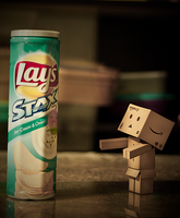 Hungry Danbo by lee-sutil