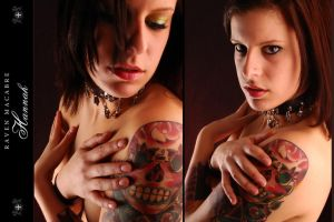 Hannah - Two Shots by RavenMacabre