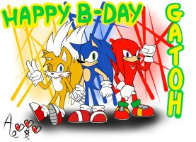 Happy B-Day gatoh !!! XD by AR-ameth