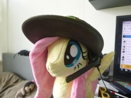 day 1.6 - Fluttershy is ready to play some games by verolesh