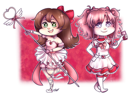 Collab with PixelatedFairy by Cherryberrybonbon