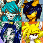 -Icon commissions- by Treehunned