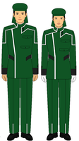 Gundam 00 Uniforms: HRL by kyuzoaoi