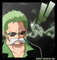 One Piece 702 - Roronoa Zoro by SergiART