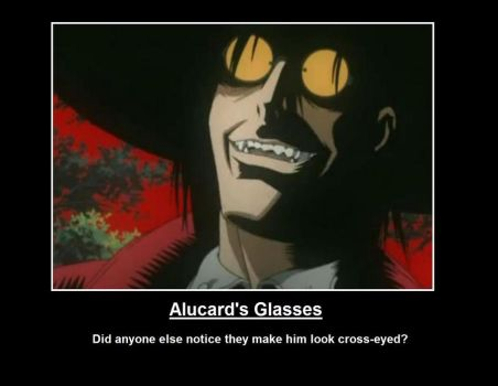 Alucard's glasses by SharonaIsCool