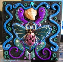Bug jewelry box cover by HollieBollie