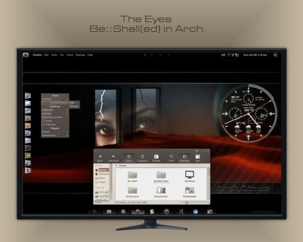 The Eyes - Be::Shell(ed) in Arch by rvc-2011