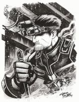 Sam Fisher by KidNotorious