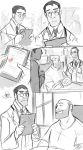 TF2- Paperman Doodles by MadJesters1