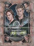 Supernatural- Carry On Wayward Son by scotty309
