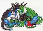Royal Family Portrait - Art by Wollfisch by AMCAlmaron