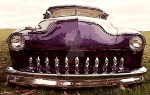Purple Merc front by stlcrazy