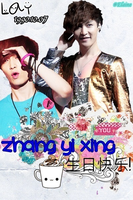 EXO-M Lay Birthday Edit [PNG] (2012) by xElaine