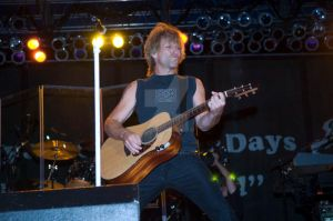 Bon Jovi on the guitar by FireAwayphoto