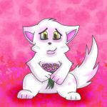 Valentines Kitty by wushan