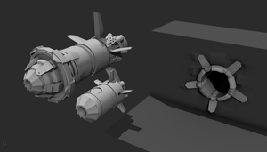 Flamey Bandit rocket pod Proxy by LukeViljoen