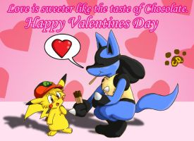 Happy Valentines Day by Coshi-Dragonite