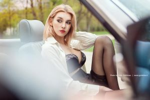 M and car by gytis