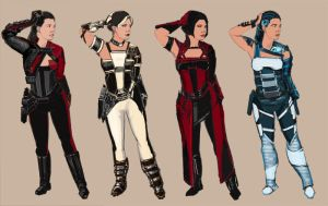 SF Outfits by thegryph