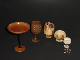 A Gaggle of Great Goblets by woodizgood