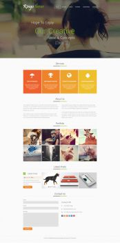 Metro Design for Multi-purpose theme by irfan96
