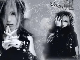 Gazette wallpaper Uruha by Ruru-sama