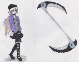 Soul Eater oc Talia redesign by anime4ever79