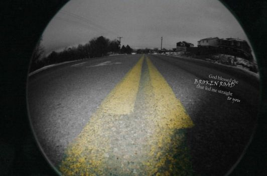 God Blessed the Broken Road by Verisley
