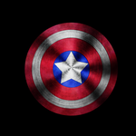 captain america shield by Dreamtabloid
