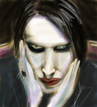 manson sketch by theblindalley