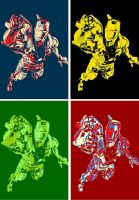 Iron Man Yes We Can Four Panel Pop Art by TheGreatDevin