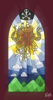 Flying Spaghetti Monster by edgar1975