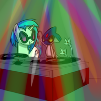 commission- the new DJ in town by kibarockz79