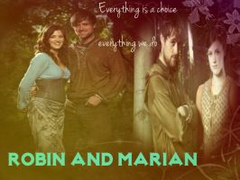 Robin and Marian Everything is a choice. by sparklelemons