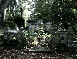 the graveyard blues by lichtmalerin