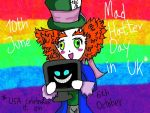 Happy Mad Hatter Day in June by JudytaDragon