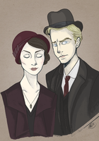 Mary and Matthew by monkette