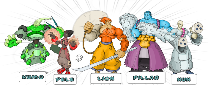 Team Pic from 'RPG2' by SnaggleToe-1Million