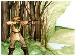 Robin Hood by LilyBotanica