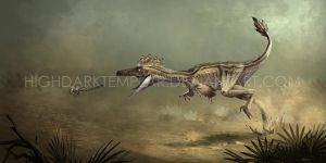 Troodon formosus by highdarktemplar