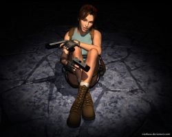 Lara Croft60 by Nicobass