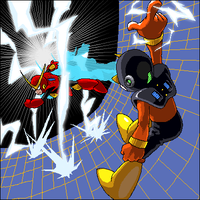 ELECMAN vs QUICKMAN by pain-v