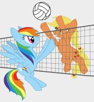 Volleyball by pixiebellecosplay