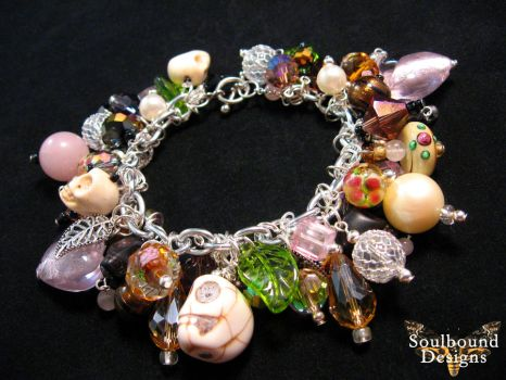 Voodoo Love Charm Bracelet by SoulboundDesigns