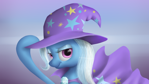 The Great and Powerful Trixie by LuminousDazzle