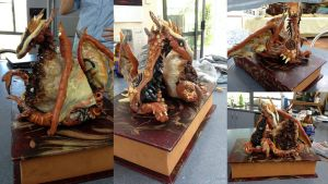 Copper Moon Dragon - SOLD by SonsationalCreations