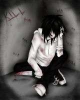 Jeff The Killer :iNSaNiTY: by Ren-Ravie